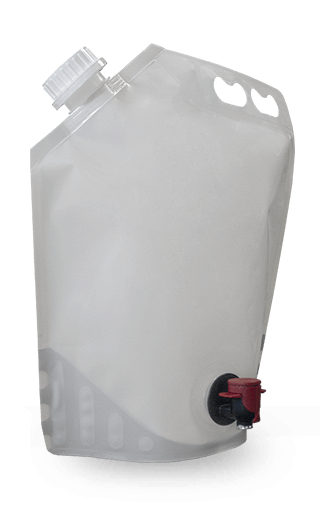 Label-Ready 1 gallon/4 liter To-Go Pouch